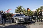 Autonomní Audi A7 samo ujelo téměř 900 kilometrů v provozu.