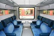 Interiér vozu Bzm - Ilustrační foto