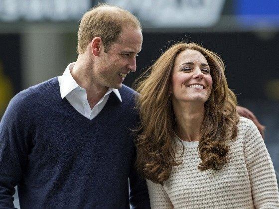 Princ William a jeho manželka Kate, vévodkyně z Cambridge.