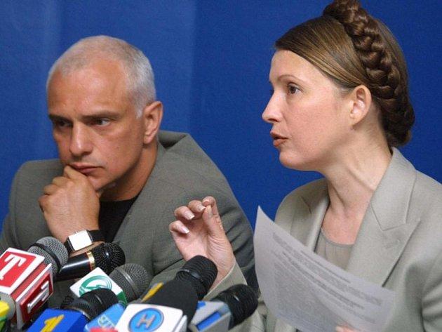 Oleksandr Tymošenko s manželkou Julií.