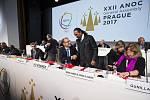 22. valné shromáždění národních olympijských výborů (ANOC).