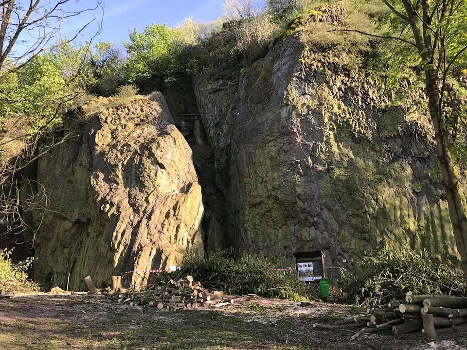 Ferrata Slánská hora