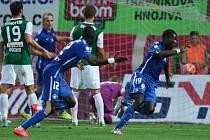 Jablonec - Liberec: Kevin Luckassen a jeho radost z gólu