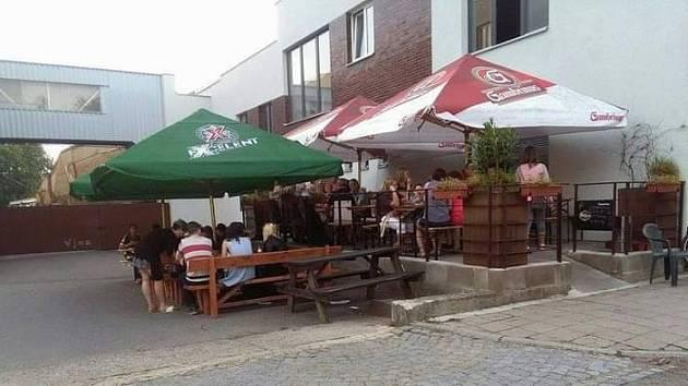 Coffee bar vMěříně na Vysočině.
