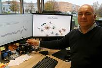 Hlavní tvář projektu. Miroslav Vozňák, profesor na fakultě elektrotechniky a informatiky VŠB – TUO.