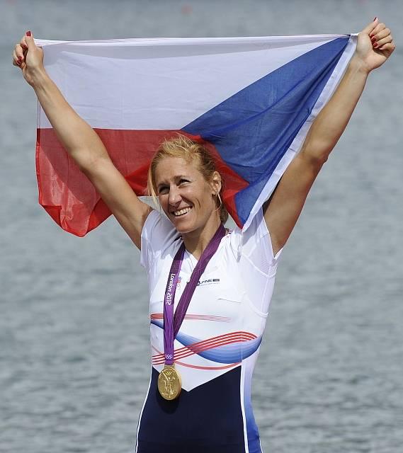 Zlatá olympijská medailistka Miroslava Knapková.