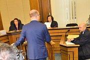 Premiér Bohuslav Sobotka svědčí před soudem v kauze privatizace OKD.
