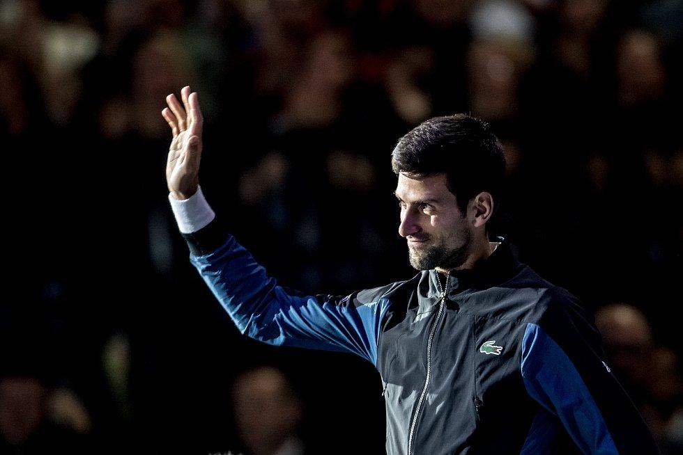 Novak Djoković zajistil Štěpánkovi zdravici tenisových velikánů.