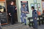 První klapka Policie Modrava na Šumavě, začalo natáčení čtvrté řady.