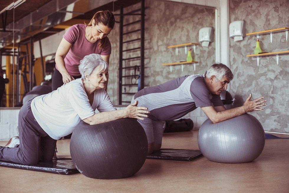 Pilates je pro všechny věkové kategorie.