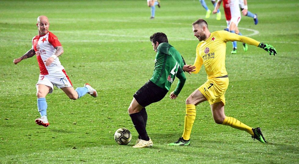 FORTUNA:LIGA 3. kolo skupiny o titul Slavia Praha - FK Jablonec Foto: Dalibor Durčák