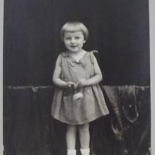 Věra Šťovíčková - dětský portrét