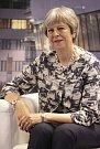 Theresa Mayová, premiérka Velké Británie.