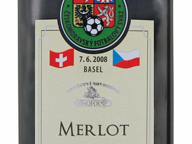 Fotbalisté mají své víno