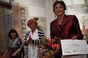 Vítězka Lidmila Pekařová