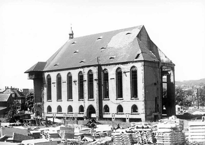 Kostel po přesunu