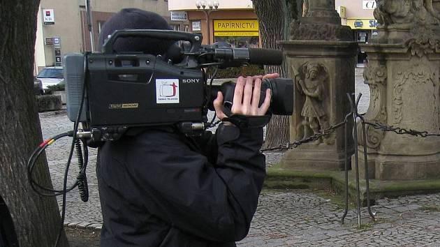 Česká televize, natáčení - ilustrační foto