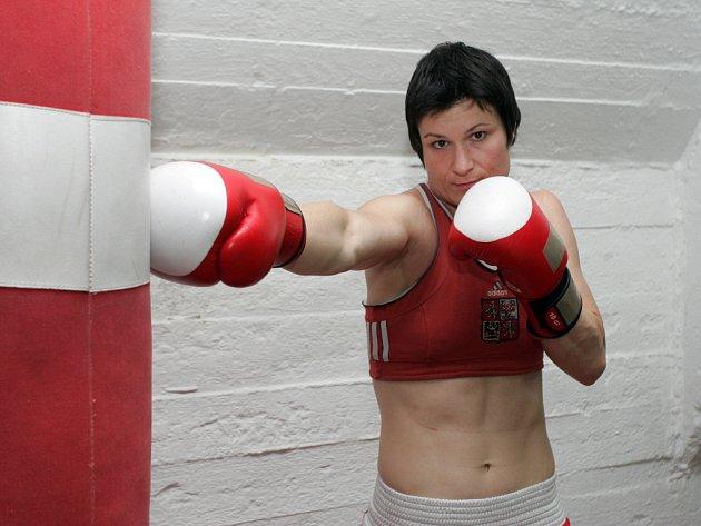 Česká boxerka Danuše Dilhofová