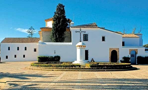 FRANTIŠKÁNSKÝ KLÁŠTER Santa Maria de la Rabida vHuelvě
