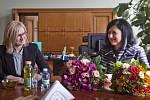 Karla Šlechtová v době, kdy se stala novou ministryní pro místní rozvoj