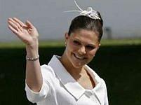 Švédská korunní princezna Victorie.