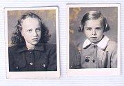 Dcery manželů Kaprálových Eva a Jana