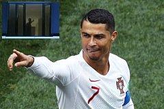 Cristiano Ronaldo žádal fanoušky o klid.