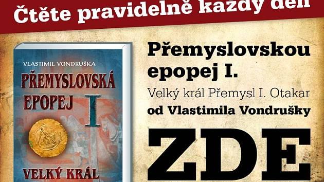 Čtení na pokračování z Přemyslovské epopeje Vlastimila Vondrušky