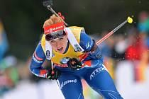 Gabriela Soukalová přišla v Ruhpoldingu o zlato kvůli ztracené hůlce.
