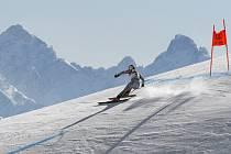 Lyžařské MS v Cortině d´Ampezzo, Češka Ester Ledecká ve sjezdu