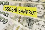 Osobní bankrot. Ilustrační snímek