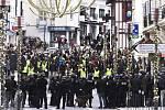 Ve Francii pokračují protesty Hnutí Žlutých vest