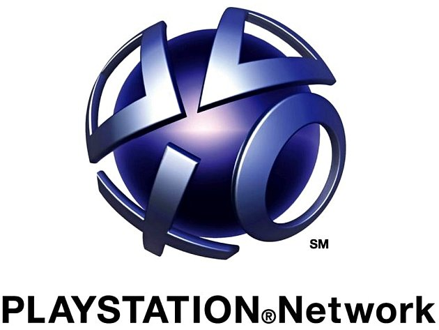 Logo služby PlayStation Network.