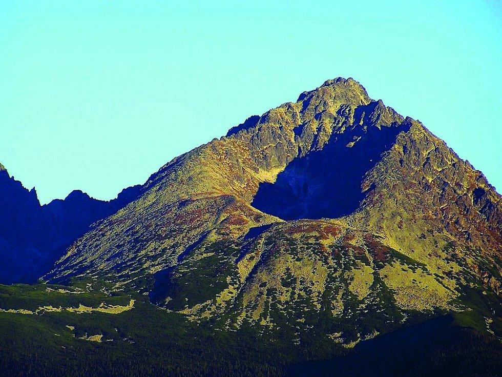 Gerlachovský štít, nejvyšší hora Slovenska.