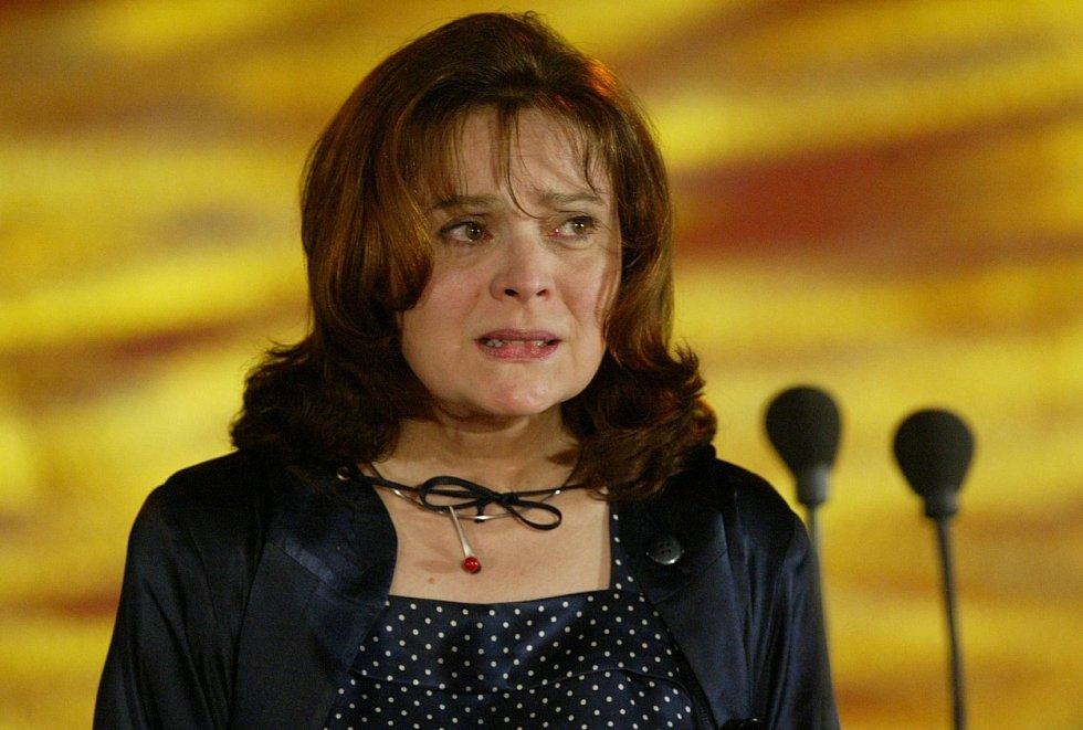 Herečka Libuše Šafránková