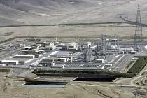 Íránský výzkumný těžkovodní reaktor v Araku.