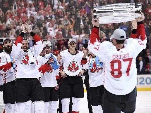 Kanadský kapitán Sidney Crosby.