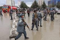 Sebevražedný atentát v Kábulu