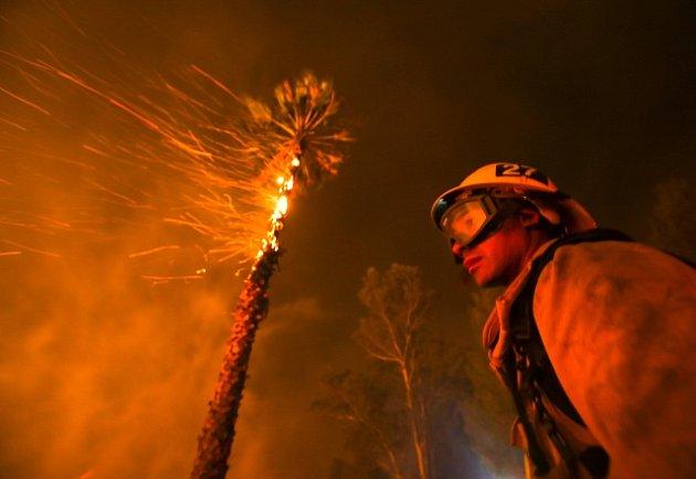 Požáry v Jižní Kalifornii