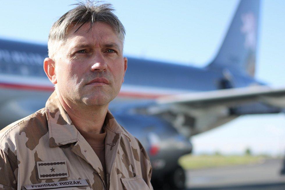 Český generál František Ridzák