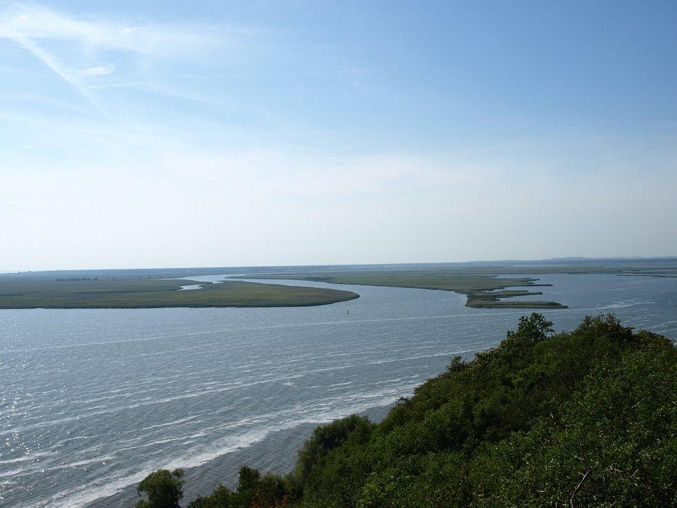 Ústí řeky Odry