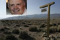 Smith Valley - na tomto nehostinném území se ztratil dobrodruh Steve Fossett.