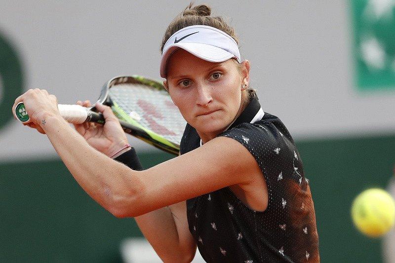 Markéta Vondroušová zvládla první kolo Roland Garros.