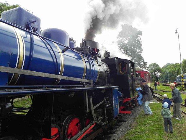 Výletní vlak. llustrační foto