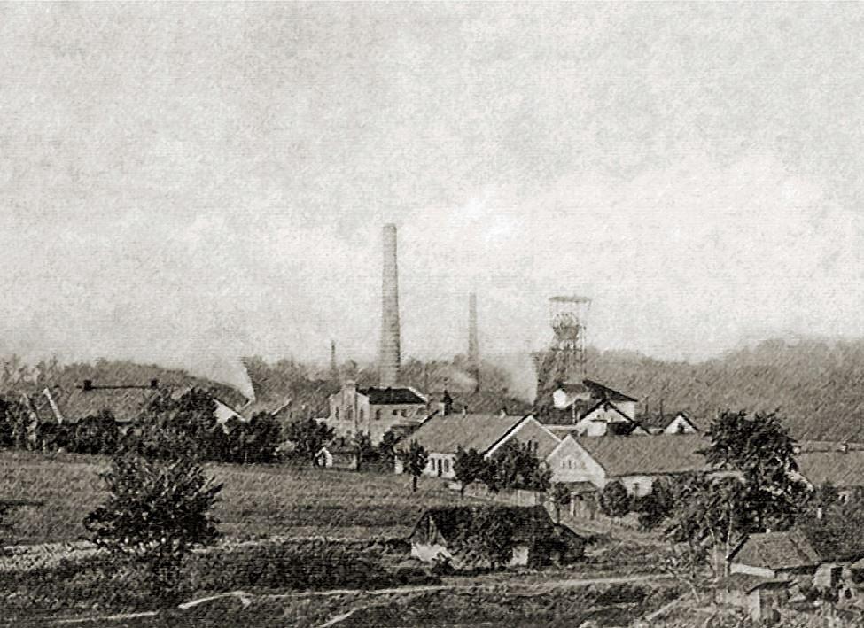 Důl Michálka na historickém snímku
