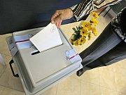 Volby v Bohdalíně na Pelhřimovsku.