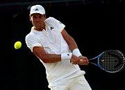 Tomáš Berdych porazil Dominika Thiema z Rakouska a je ve čtvrtfinále Wimbledonu