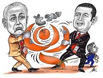Karikatura dne Milana Kounovského