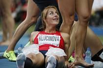 Sedmibojařka Eliška Klučinová na MS v Moskvě vylepšila český rekord a skončil a sedmá.