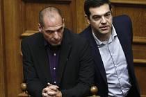 Janus Varufakis a Alexis Tsipras